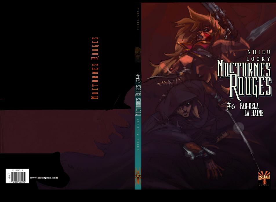 Nhieu - Looky : Nocturnes Rouges(BD-Edition Soleil)